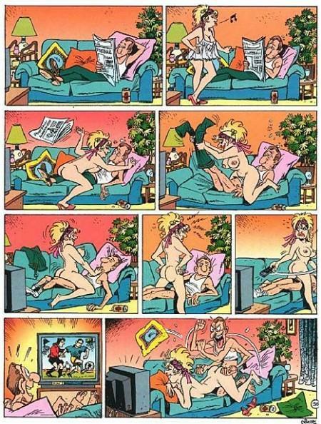 эро аниме комиксы